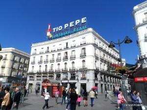 PUERTA DEL SOL, MADRID.
