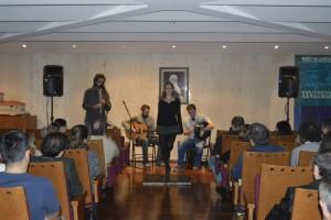 Concerto de música folk a cargo do grupo BÖJ