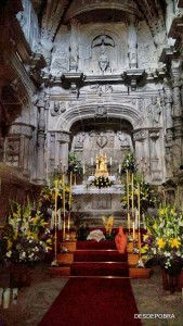 Iglesia de Pobra do Deán, Semana Santa 2016