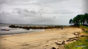 Playa de la Lomiña.
